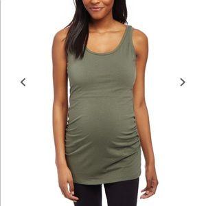 Motherhood Maternity Jersey Knit Scoop Neck Tank